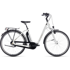 Cube Town Hybrid ONE 400 E-toerfietsen Easy Entry wit